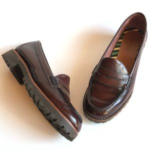 Sperry Winsor Patent Leather Penny Loafer Cordova